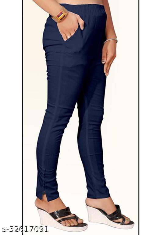 Bharat Sales Pant Ankle Length Leggings Cotton