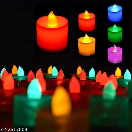 Diwali Plastic LED Light Candle