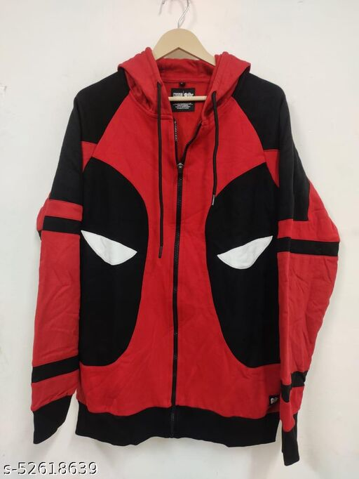 Men's Cotton Hooded Casual Jacket