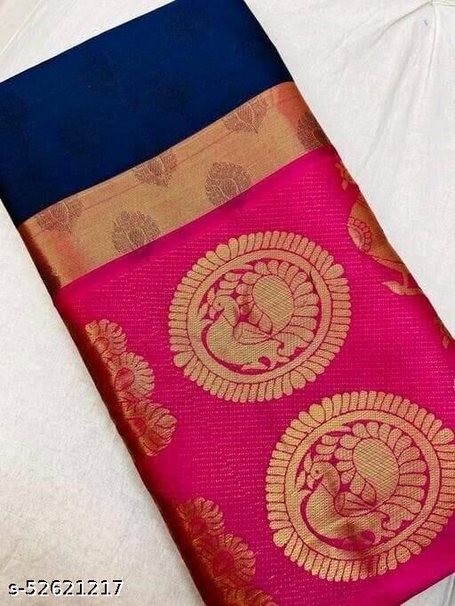 Karishma Designer Cotton Silk Jacard Saree