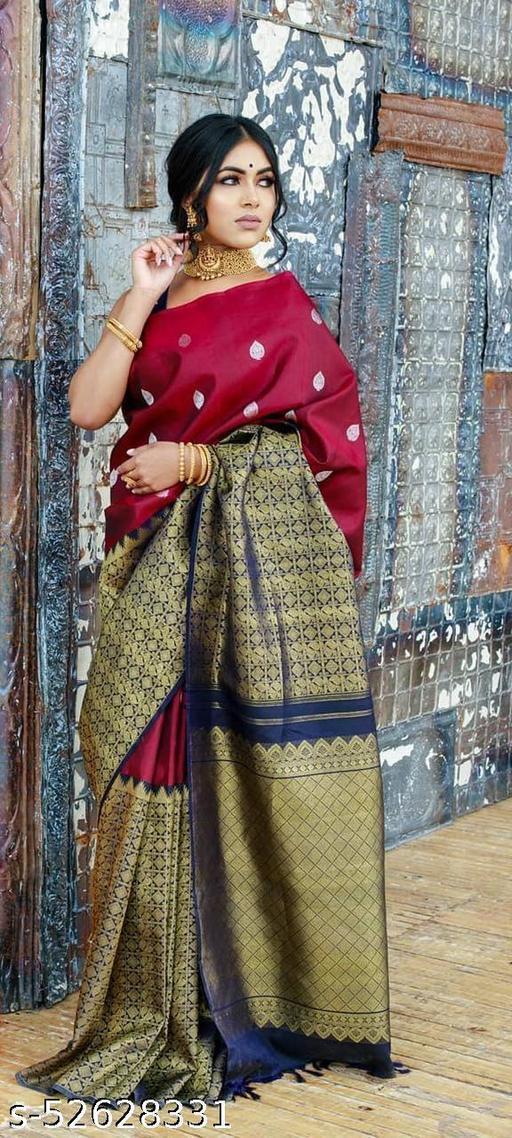 Monalisa Kanjeevaram Silk Saree