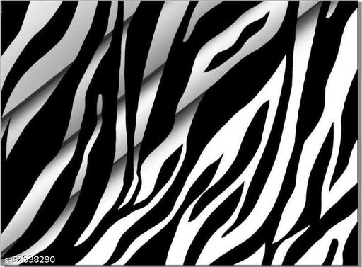 Men's Shirt Fabric Zibra print (Untiched)
