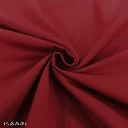 Men's Shirt Fabric Maroon (Untiched)