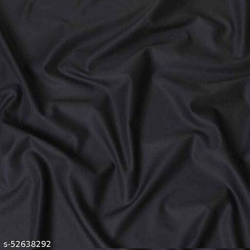 Men's Shirt Fabric Black (Untiched)