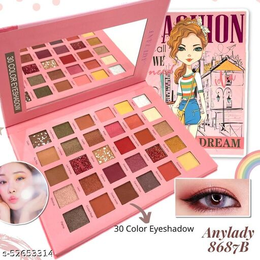 Lets DREAM FASHION - Anylady 30 Color Eyeshadow Palette Any Lady Eye Shadow