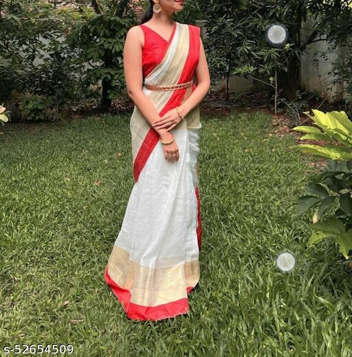 TRENDY NEW COLLECTION COTTON SAREE