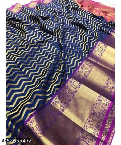 Kachipuram Silk saree With Blouse