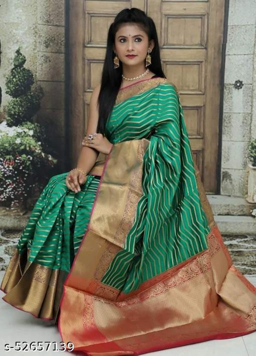 Kachipuram Silk saree  With Designer Blouse