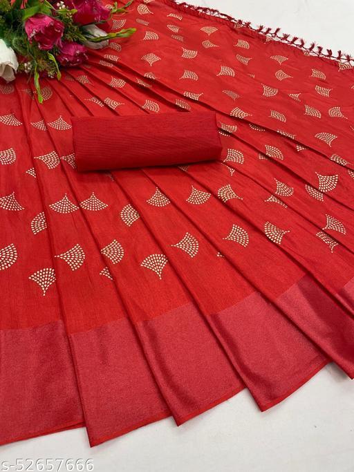 Parevadi Fashion Fancy Batik Print Dola Silk Saree