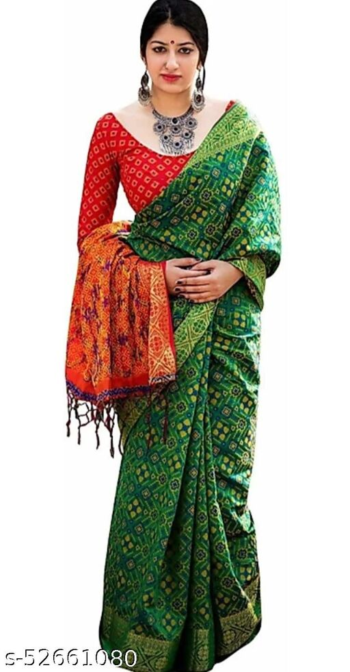 Banarasi Patola Silk Saree