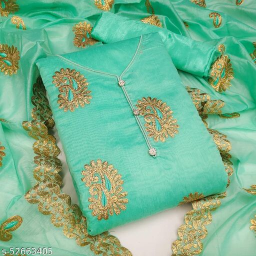 IC SEMI MODAL DRESS MATERIAL (SUITS)