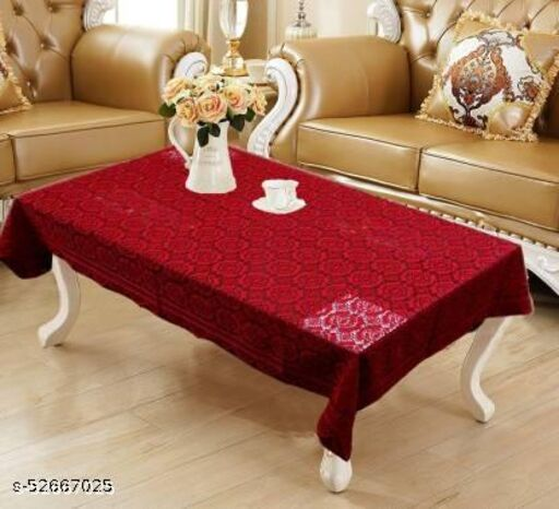 Embroidered 4 Seater Table Cover