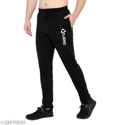 GOLAZO Men's Regular Fit Cotton Track Pants