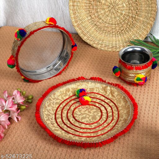 karva chauth thali