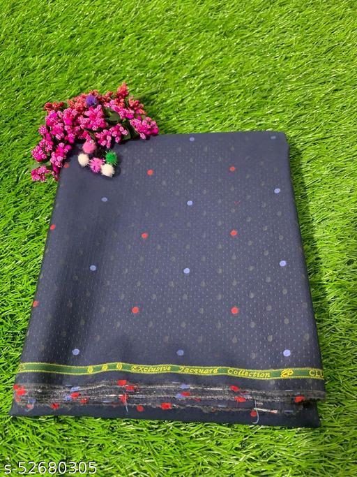 Villa Italia Premium Egyptian Giza Cotton Shirt Fabric (Blue) MEShirt-0054