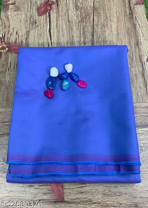 Moksh Cotton Double Tone Unstitched Blue Shirt Fabric MEShirt-0001