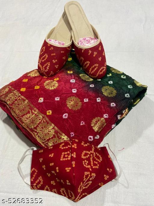 Taffeta Silk Saree