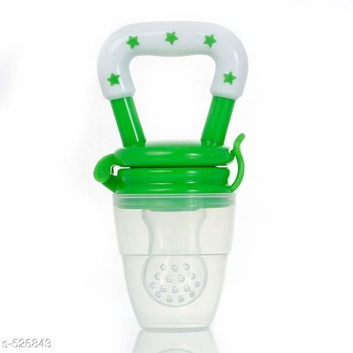 Others Baby Feeder (Green)  *Material* Silicone   *Description* It Has 1 Piece Of Baby Feeder  *Sizes Available* Free Size *   Catalog Rating: ★4.5 (37)  Catalog Name: Infant's Essential Products Vol 3 CatalogID_58342 C82-SC1308 Code: 152-526843-