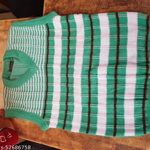 Men's Half Sleeve woollen MultiColor Designer Sweater