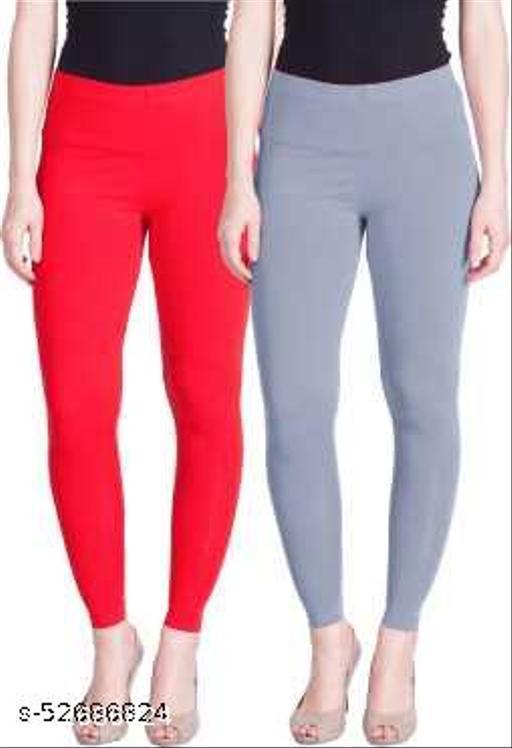 Radical Ankle Length Ethnic Wear Legging Pack of 2 (Multicolour)