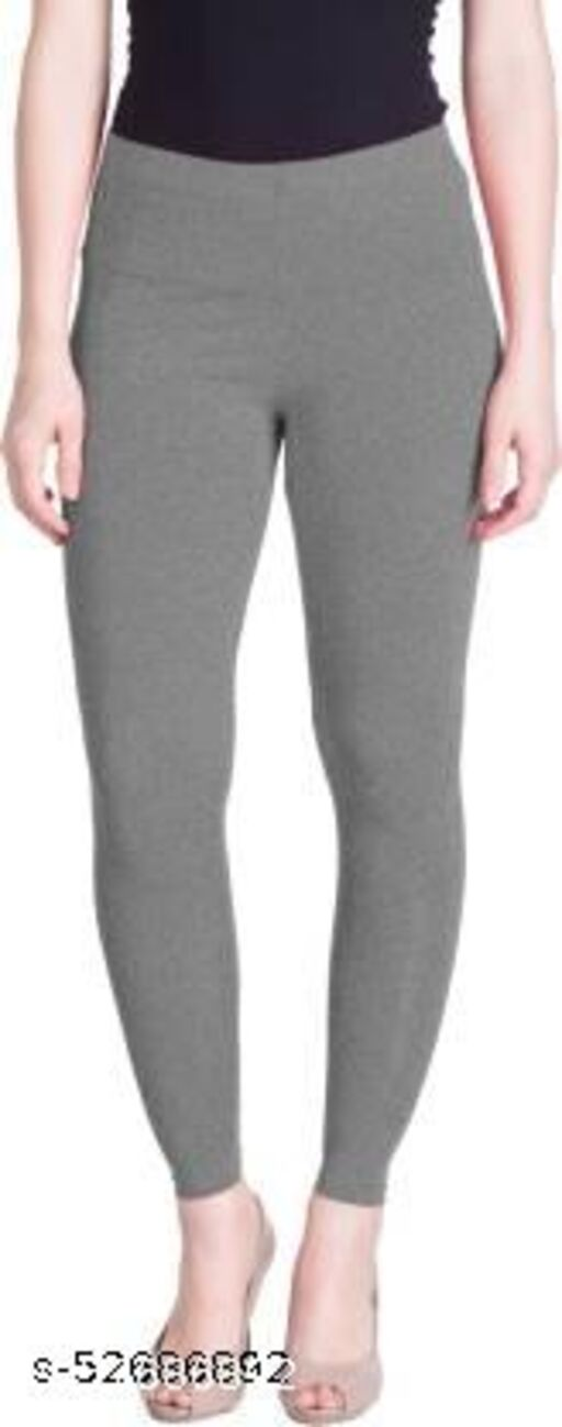 Radical Ankle Length Ethnic Wear Legging Pack of 1 (Grey Milange)
