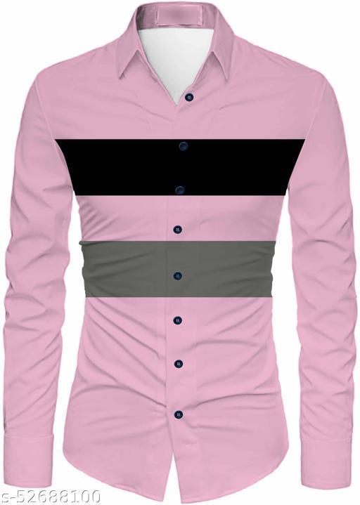 Pretty Glamorous Men Shirt Fabric