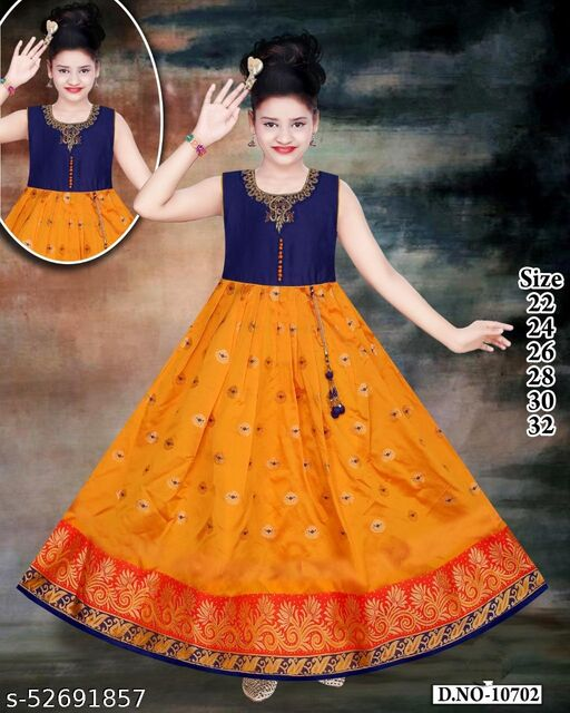Anni Creations Trendy Beautiful Gown