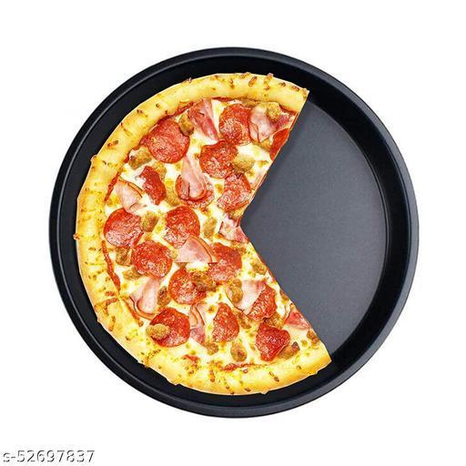 "Black Pizza Pan 9"""