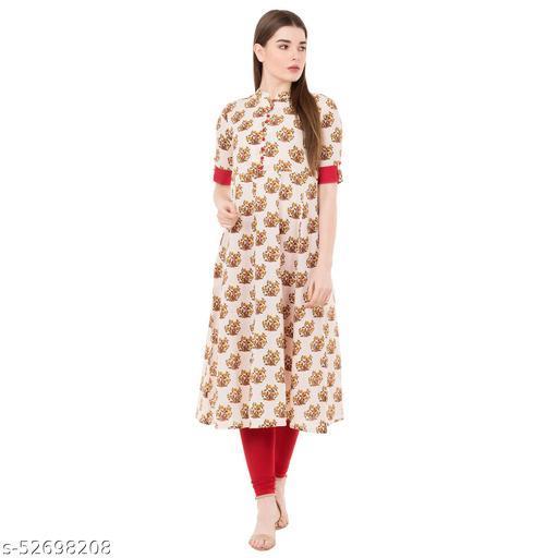 Women's A-line Regular Wear Kurta kurti