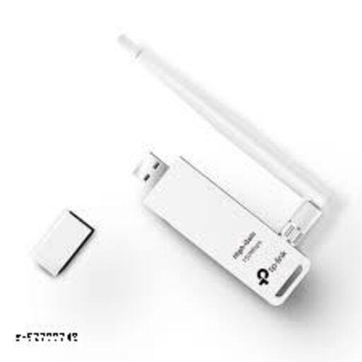 TP LINK Nano USB WiFi Dongle 150Mbps High Gain Wireless Network Wi-Fi Adapter for PC Desktop and Laptops - TL-WN722N