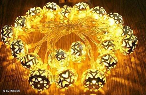 Diwali Led Light (Golden Metal, 3 Meter)