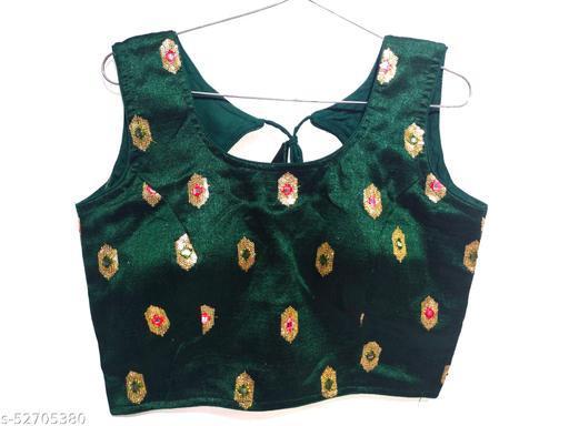 fancy women's blouse design