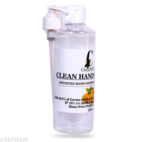 Callesta Clean Lemon Gel Based Hand Sanitizer