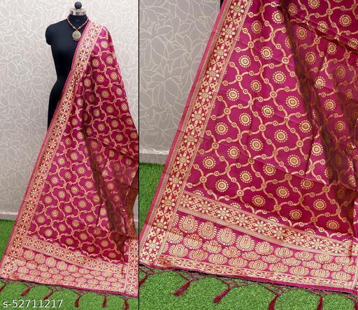 Kheni Tex New Fancy Designer Soft Silk Dupatta