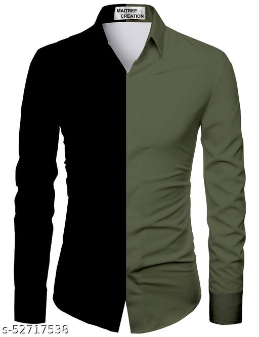 green color shirt for men unstiched fabric