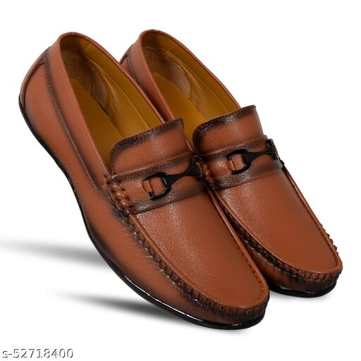 Shuan synthetic leather fancy loafer shoes