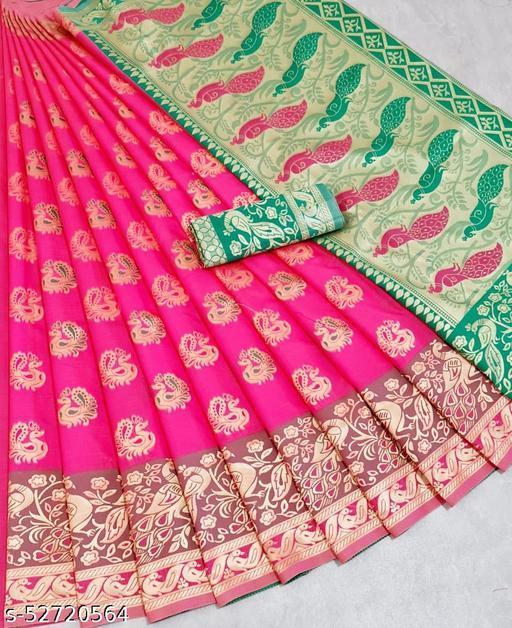 Banarasi Litchi Silk Saree