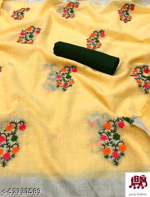 Embrodered saree