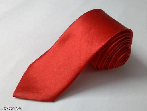 Unique Classy Red Colored Necktie for Men
