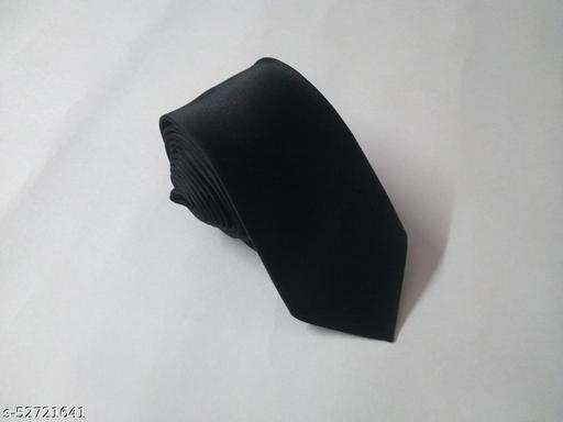 Unique Classy Black Colored Necktie for Men