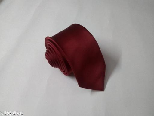 Unique Classy Maroon Colored Necktie for Men