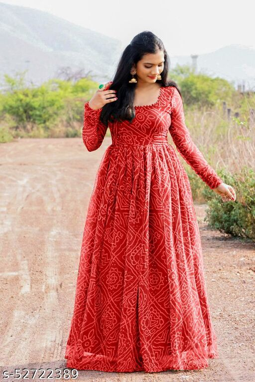 NEW DESIGNER MONSOON SPECIAL PRINTED GOWN??