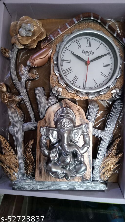 The Lord Ganesha Wall Clock For Home Decor