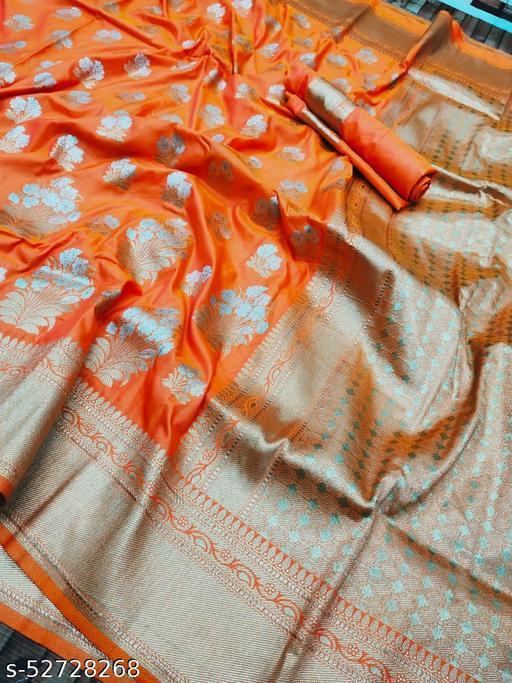BLACK WOLF Tathastu Silk-2 Kanchipuram Pure Silk Handloom Saree