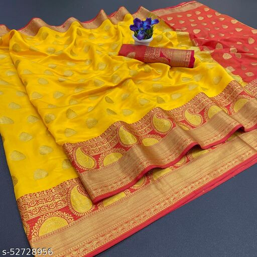 Banarasi Lichi Silk Sarees