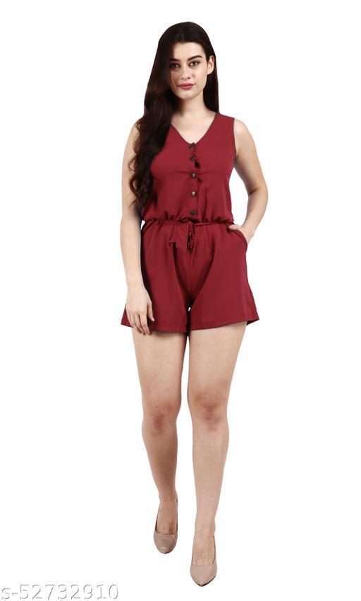 Short Playsuit Jumpsuit Dress