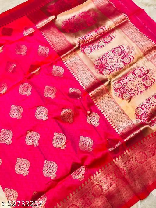 BLACK WOLF Taj Mahal Silk Kanchipuram Pure silk handloom saree