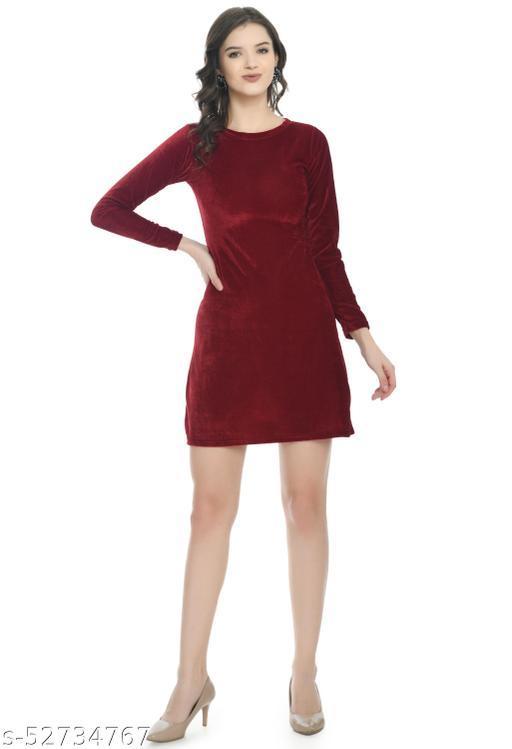 Pretty Women Velvet Dress
