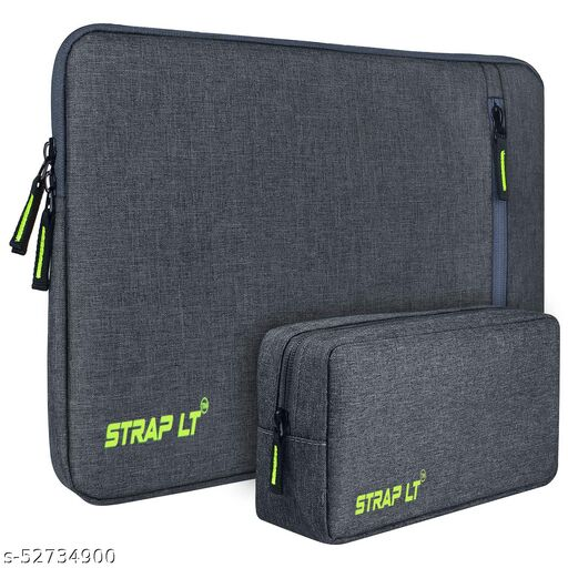 StrapLt Laptop Sleeve/Cover With Pouch for 15-Inch,15.6-Inch Laptop Laptop Sleeve/Cover