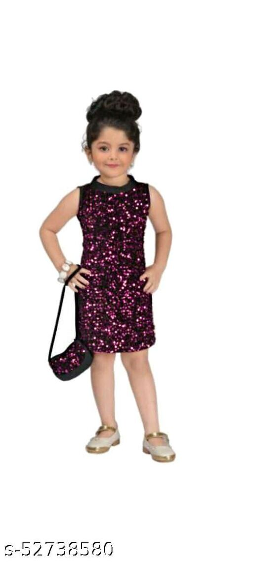 AARDHYA PRESENTS GORGEOUS BABY BODYCON GOWN WITH PURSE